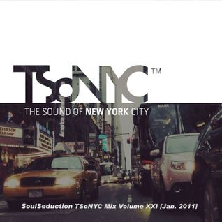 "SoulSeduction ""TSoNYC Mix Volume XXI"" [Jan. 2011]"