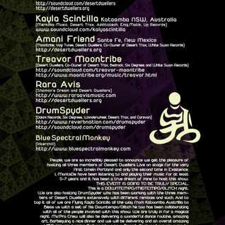 blue spectral monkey - awakenings 7/2012