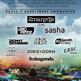 Dyed Soundorom - Live @ South West Four, UK - 26.08.2012