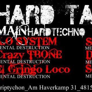 CrazyTBone @ Hard Taste by Dr Schracid in Münster Triptychon 21.02.2014