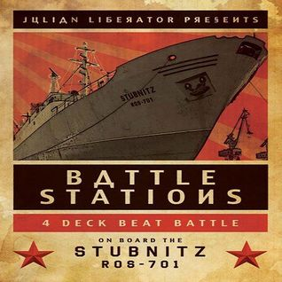 Mike Humphries @ BattleStations - MS Stubnitz London Royal Docks - 15.12.2012