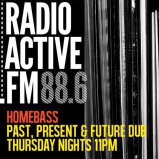 HomeBass RadioActive 88.6fm 11th July 2013 P-Vans