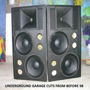Underground Garage Cuts From Before 98 - Alfie Dizzle