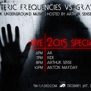 Arthur Sense - Esoteric Frequencies vs Gravity NYE 2015 Special [December 2014] on tm-radio.com