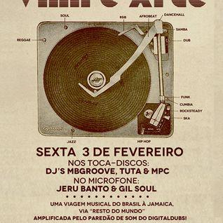 """Set promocional_Festa """"Digitaldubs encontra Vinil é Arte"""""""