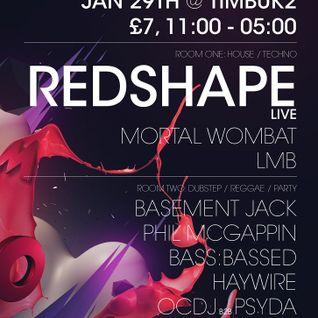 Redshape LIVE @ Timbuk2 (29.01.2011)
