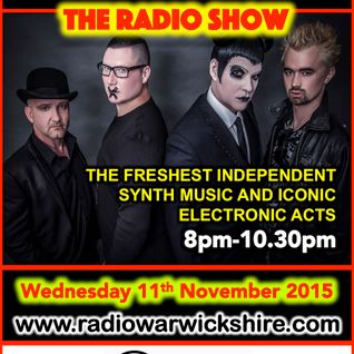 RW050 - THE JOHNNY NORMAL RADIO SHOW - 11TH NOVEMBER 2015 - RADIO WARWICKSHIRE