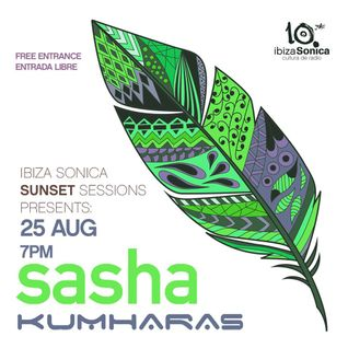 Sasha - Live at Kumharas, Sunset Sessions, Ibiza (25-08-2016)