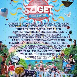 Sziget 2014 Mixtape - Art.ego