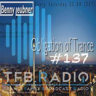 Podcast - Obligation of Trance #137