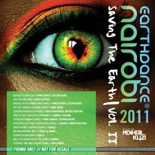 Earthdance Nairobi 2011 Mikhail Kuzi LIVE DJ Set