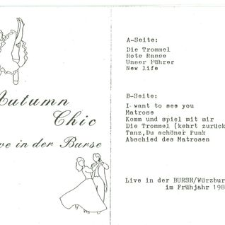 "Autum Chic - Live in ""Der Burse"" in Würzburg (Tape Rip - 1983 - Electronic/Experimental)"