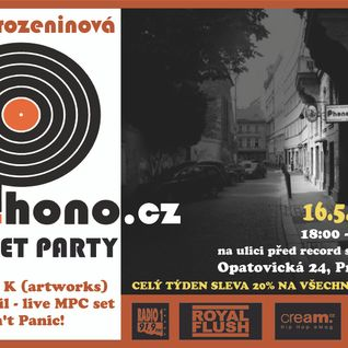 15.5.2013 Estereo with DJ Bazil and Dimout