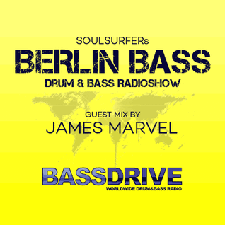 Berlin Bass 050 - Guest Mix by JAMES MARVEL