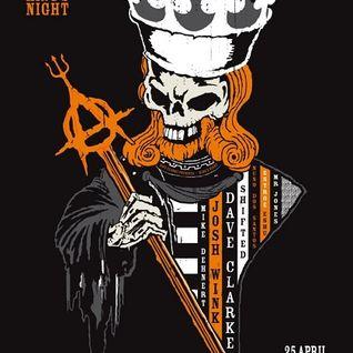 Nuno Dos Santos - Live @ Dave Clarke Presents Kings Night, Melkweg - 25.04.2014