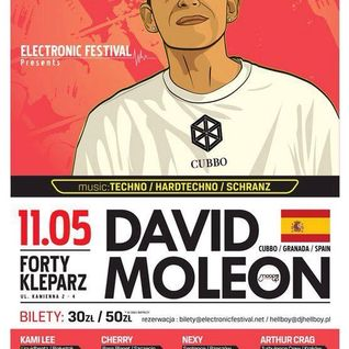 Lukash Andego - live @ Electronic Festival with David Moleon 11.05.2013 - Forty Kleparz, Krakow