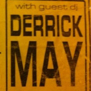 "DERRICK MAY ""THE SUNDAY SERVICE"" (MIXING DESK RECORDING) @ WAVE, THE VENUE, EDINBURGH, 11/04/93"