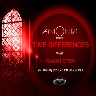 Ani Onix - Time Differences 153 [25th January 2015] On Tm-radio