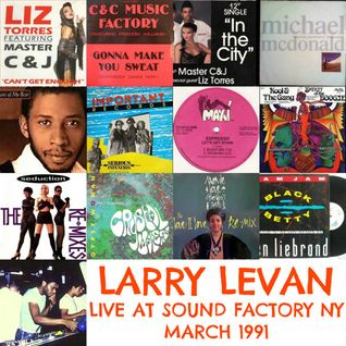 SOUL OF SYDNEY 230: Larry Levan Live At Sound Factory NY - Mar 1991 | Classic Mix