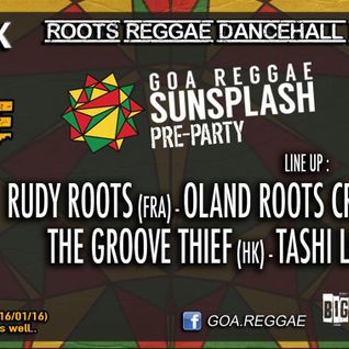 Reggae Rules The Beach [Goa Sunsplash Preparty] Live @ Opinhal, Arambol, Goa (14-01-16)