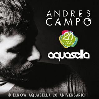 Andres Campo @ Aquasella Festival 20 Aniversario 2016