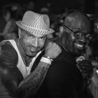 DAVID MORALES & FRANKIE KNUCKLEs angels of love party live at ennenci 1°, napoli italy 12.07.1998
