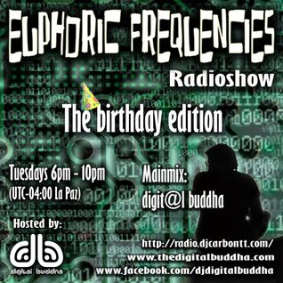 euPHoRiC FReQueNCieS The birthday edition - digit@l  buddha mainmix