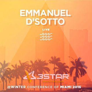 Emmanuel D' Sotto @Miami Winter Music Conference 2016