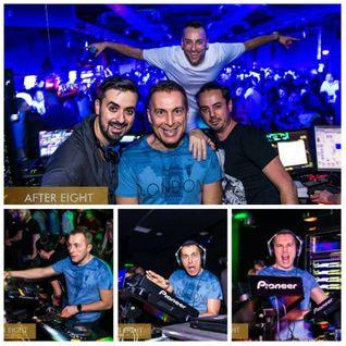 Partydul KissFM ed413 vineri - ON TOUR After Eight Cocktail Club Cluj Napoca cu Dj Jonnessey si Aner