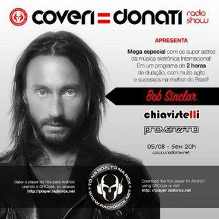 Coveri & Donati Radio Show (Special 2h Radio Rox Podcast - Provenzano + Bob Sinclar + Chiavistelli)