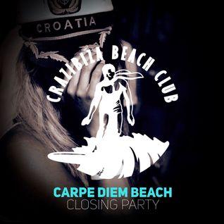 Crazibiza - Carpe Diem Beach Closing Party (Continuous Mix)