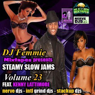 DJ FEMMIE PRESENTS STEAMY SLOW JAMS VOL. 23 FEAT. KENNY LATTIMORE