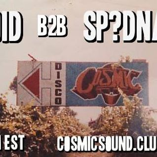 sp?dnar on cosmic sound radio 8-31-15
