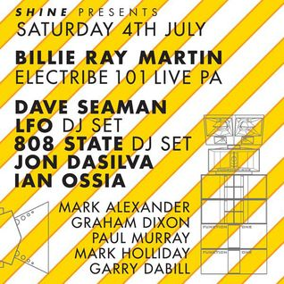 Dave Seaman - Live at The Warehouse, Leeds (04-07-2015)
