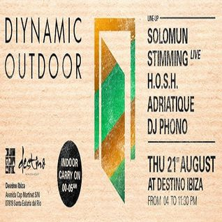 Solomun b2b Adriatique - Live At Diynamic Outdoor, Destino (Ibiza) - 21-08-2014 [Sh4R3 OR Di3]