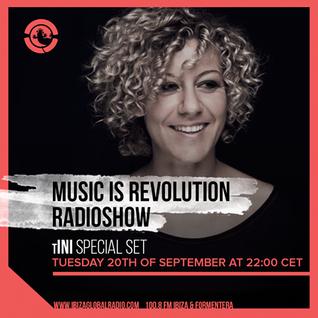 tINI @ Ibiza Global Radio - 20-09-2016