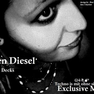 Lotte vs Ben Diesel  - Techno is mit ohne singen (Exclusive Mix - 2013-10-03)