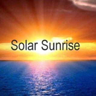 Solar Sunrise with Ian Jons - Tuesday May 17th 2016