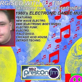 Energised With DJ Tim - 7/9/13/ - 103.2 Preston fm