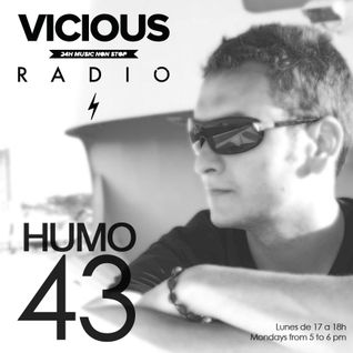 Humo 43 on Vicious Radio 18/08/2014