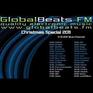 "mar she @ GlobalBeats FM ""Christmas Special 2011"" (17.12.11)"