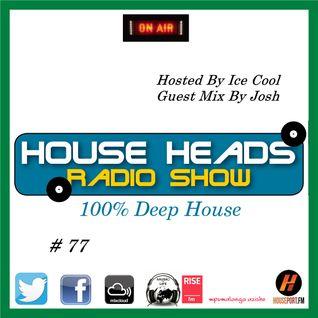 HH # 77 HouseHeads = RadioShow ( Winter Deep House Fiesta )