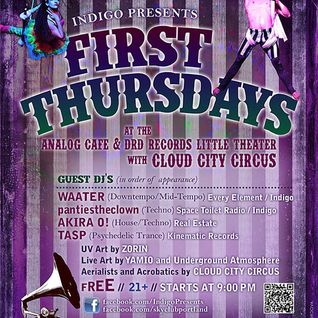 Indigo Presents: First Thursdays, 8.01.2013