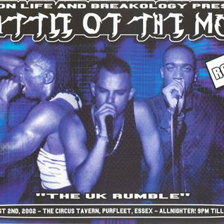 Dice with MCs Navigator, Fearless, Five 0, Shabba & Fatman D @ Battle Of The MCs Round 2 - 2002