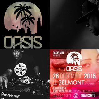 OASIS LIVE MIX SESSION @LE BELMONT with DJ DON BARBARINO (2015-12-26)