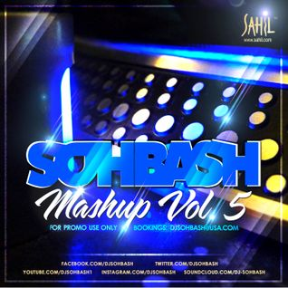 DJ SOHBASH - MASHUP VOL 5 (2013)