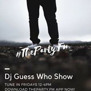 Dj Guess Who Live mix on Wild 105.7