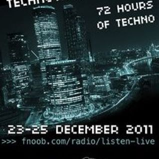 Glazoff (MTMA) Live @ Russian Technothon on Fnoob Radio