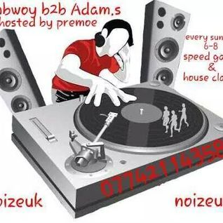 Jimbwoy & Adam S 17/08/14 (4x4 Bassline House Speed Garage) noizeukradio.com