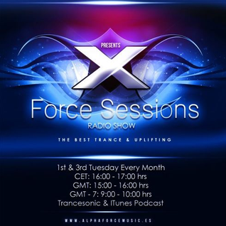 X Force Sessions 016 with Diego.Morrill on trancesonic.fm